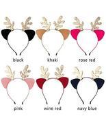 Hair Accessories Christmas Headband Cat Ears Hairband Xmas Hair TkYggin ... - $19.80