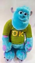 "11"" Disney/Pixar's Monsters 'SULLY' University OK Shirt Talking Plush Toy  - $19.99"