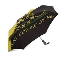InterestPrint Don't Tread on Me Gadsden Flag Yellow and Black 100% Polyester Pon - $25.73