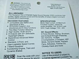 Soundtraxx 885809 Tsunami 2 TSU-PNEM8 Sound Decoder EMD Diesel, 8 Function image 4