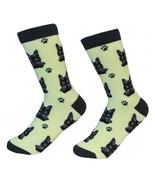 Black Tabby Cat Socks Unisex Dog Cotton/Poly One size fits most - $11.99