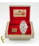 Hamilton Homme à Remontage Automatique Acier Inoxydable Watch W / Boite - $445.67