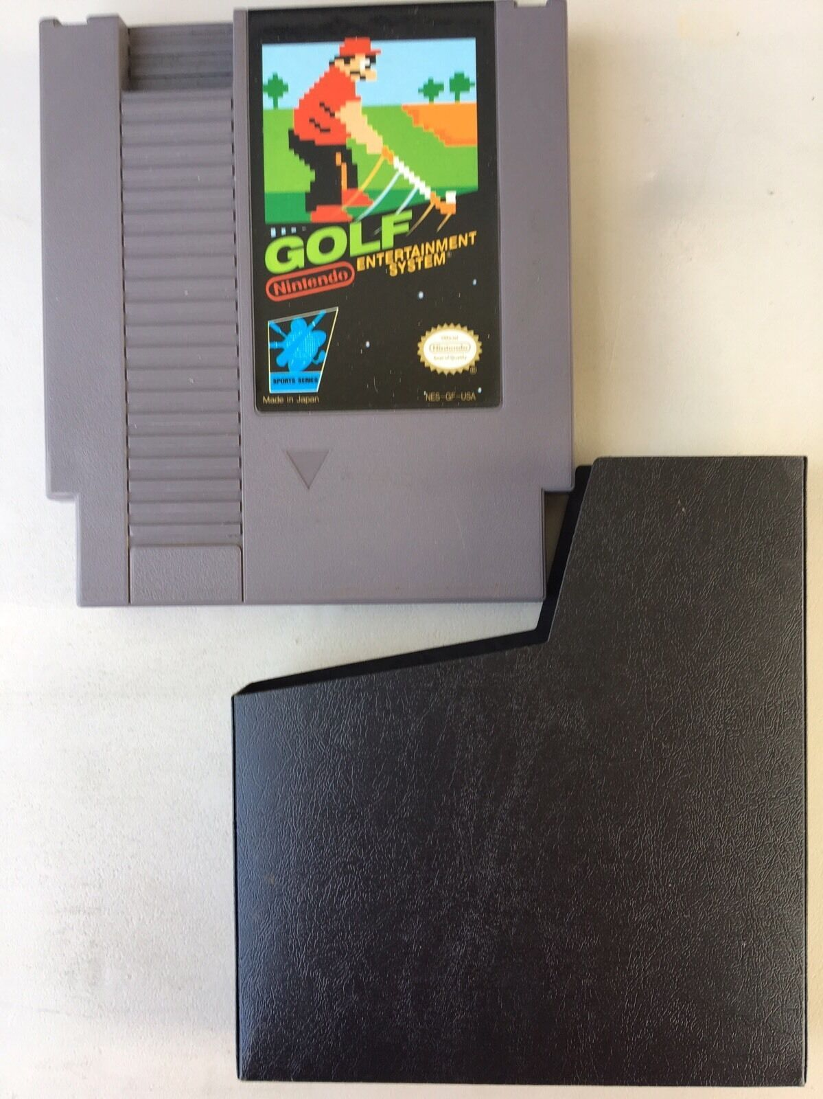 Nintendo Golf Video Game For NES TESTED