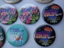 Large Lot of Minnesota State Fair Pinback Buttons Various Years image 8