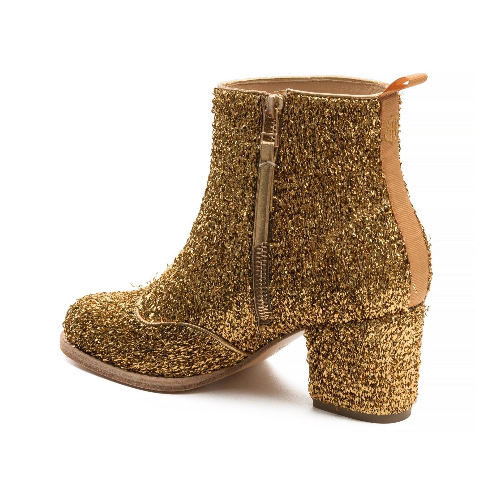 Anthropologie Bill Blass Tinsel Boots $228 Sz 7 - NWT
