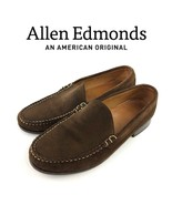 $275 Allen Edmonds Keen Brown Suede Leather Loafers Mens Size 8.5 | 12109 - $57.00