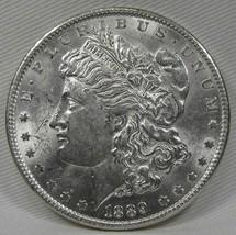 1889-P Morgan Dollar VCH+ AU Coin AD732 - $46.37