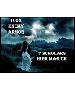 100X 7 SCHOLARS WORK ENEMY ARMOR HIGHEST PROTECTION EXTREME MAGICK RING ... - $99.77