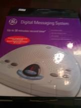 GE Digital Messaging System Answering Machine 29875GE1 English Spanish - $30.00