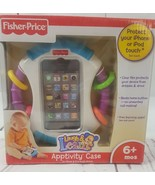 fisher price iphone 4 and ipod 4 apptivity case toy 6+ months - $9.50
