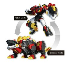 Miniforce Stego Magma Transformation Action Figure Super Dinosaur Power Part 2 image 2