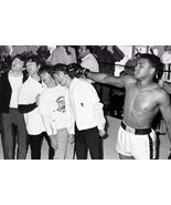 Muhammad Ali fun with the Beatles 24 X 36 INCH POSTER   Boxing legend    - $27.00