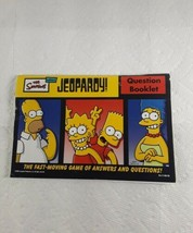 The Simpsons Edition Jeopardy Question Booklet  - $4.98
