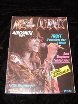 Metal Attack June 1984 Aerosmith Rush Twisted Sister Def Leppard Y & T a... - $19.99