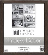 "Timeless Frames Americana Wooden Frame Espresso, 16"" x 20"" - $28.16"