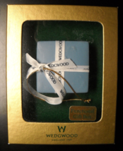 Wedgewood Christmas Ornament A Functional Gift Box Hanging Ornament Boxed - $12.99