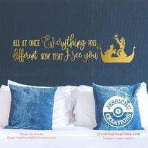 All at once everything was different now that I see you - Tangled Inspir... - $10.00+