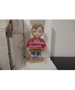 Campbell Soup Figurine Kids Bisque Porcelain Boy 1993 w/box Campbells So... - $25.00