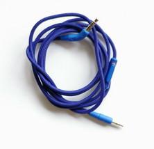 Blue Nylon Audio Cable MIC AUX cord For AKG Y40 Y45BT Y50BT Y50 Y55 Head... - $10.88