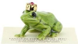 Birthstone Frog Prince January Simulated Garnet Miniatures by Hagen-Renaker image 7