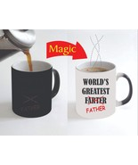 World's Greatest Farter Father Funny Family Magic Color Change Coffee Mu... - $15.83