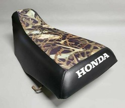 HONDA TRX200SX Seat Cover 1986 - 1988   in 2-TONE HORNZ & BLACK   (ST) - $32.95