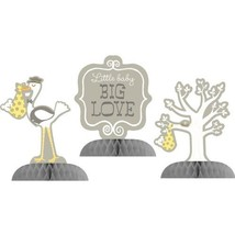 Stork Baby Shower Mini Centerpiece Set (3 ct) - $8.90
