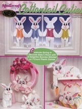 Cottontail Cuties TNS Bunnies Rabbits Plastic Canvas Pattern Leaflet - $2.67