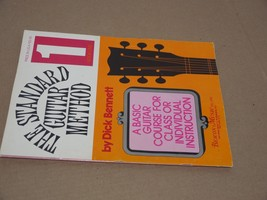 The Standard Guitar Method Book One 1 by Dick Bennet-  BEACON MUSIC 1965 - $7.51