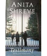 Testimony, Anita Shreve, Romance, Scandal, Intrigue, School, Teachers, S... - $10.49