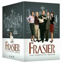 Frasier The Complete Series Seasons 1 2 3 4 5 6 7 8 9 10 11 New DVD Box Set 1-11 - $72.00