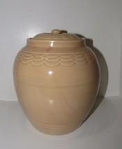 Cookie Jar HULL POTTERY Drape and Panel Nuline Bak-Serve Cookie Jar Cani... - $95.00