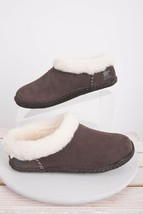 Sorel Womens Nakiska Slippers Sz 6 Eu 37 Brown Hawk Slip On Mocs Shoes New  - $59.39