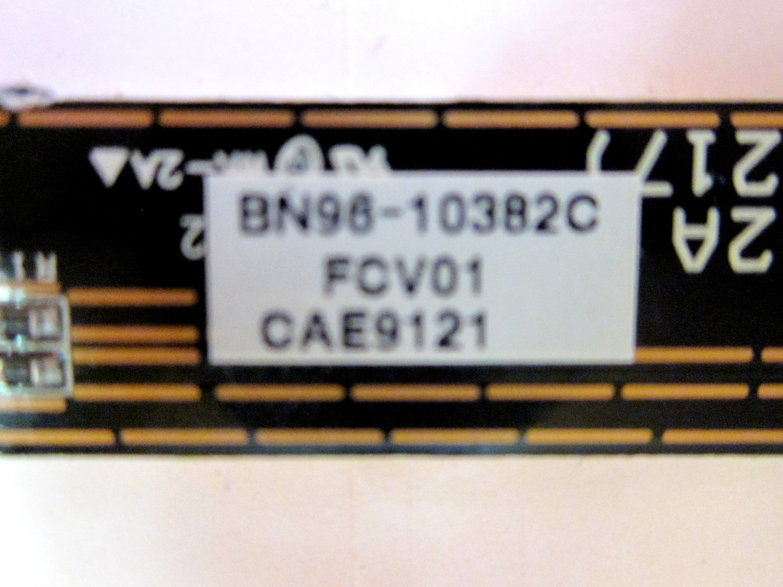 Samsung BN96-10382C (BN41-01192A) P-Touch Keypad Controller Board (See List)