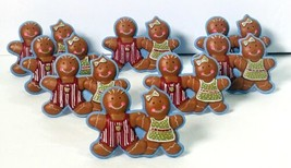 Gingerbread Boy and Gingerbread Girl Napkin Rings (Set of 8) ~ Christmas... - $45.00