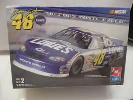 AMT Jimmie Johnson #48 2005 Lowe's Monte Carlo Sealed Model Kit 1:25 NAS... - $24.99