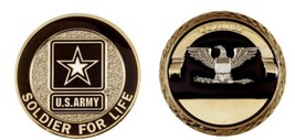 Challenge Coin Army Rank Colonel Coin - $18.43