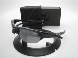 Oakley Sonnenbrille Half Jacket Jet Schwarz Mit / Iridium Polarisiert 12-800 - $233.52