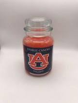 Yankee Candle AUBURN TIGERS Large Jar 22 oz Candle NCAA - FREE FedEx SHI... - $43.00