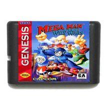 Megaman the wily wars 16-Bit Sega Genesis Mega Drive Game  - $8.99