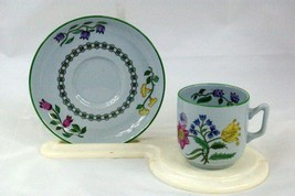 Spode 1993 Summer Palace  Demitasse Cup And Saucer Set #W150 Finestone - $9.44