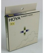 Vintage Hoya Rubber Lens Hood 58mm 58.0S w/ box - $15.78