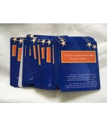 Party Trivia Game GREAT LINES FROM GREAT MOVIES Knowledge Cards SUSAN RE... - $11.80