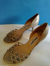 NEW JIMMY CHOO D'ORSAY LEATHER SANDALS (Size 36.5) - MSRP $575.00! - $199.95