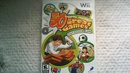 Family Party: 30 Great Games Outdoor Fun (Complete) (Nintendo Wii, 2009) - $7.99
