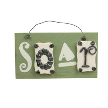 Roman Set of 5 Better Homes & Gardens Inspirational Home Wall Plaques #2... - $11.62