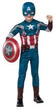 Captain America Retro Suit Winter Soldier Avengers Halloween Child Costume - $43.69