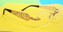 BOUCHERON Women's Optical Frame 51-18-135 Gold MADE IN LUXEMBOURG - New! - $255.00