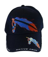 American Bald Eagle Native Pride Men's Baseball Cap (Navy) - $12.95