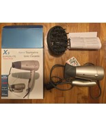 X5 Superlite 1600W Dual Voltage Ceramic-Ionic Professional Travel Hair D... - $79.99